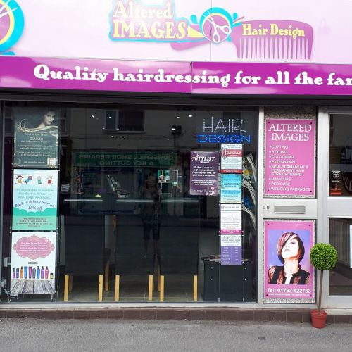 Hairdressers in Gorse Hill